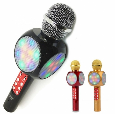Беспроводной Bluetooth караоке-микрофон WSTER WS-1816