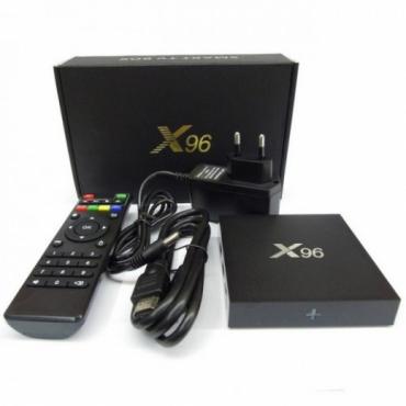 Приставка X96 с креплением для телевизора