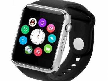 Умные часы - телефон A1, смарт часы с SIM картой, камерой и слотом по флешку