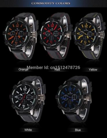 спортивно-военные  часы кварцевые V6