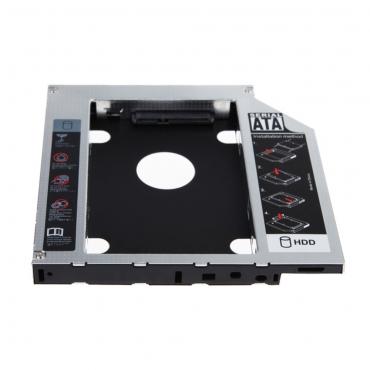 Универсальный алюминиевый SATA 12.7 мм SATA HDD корпус SSD жесткий диск кэдди оптический DVD грин бэй адаптер