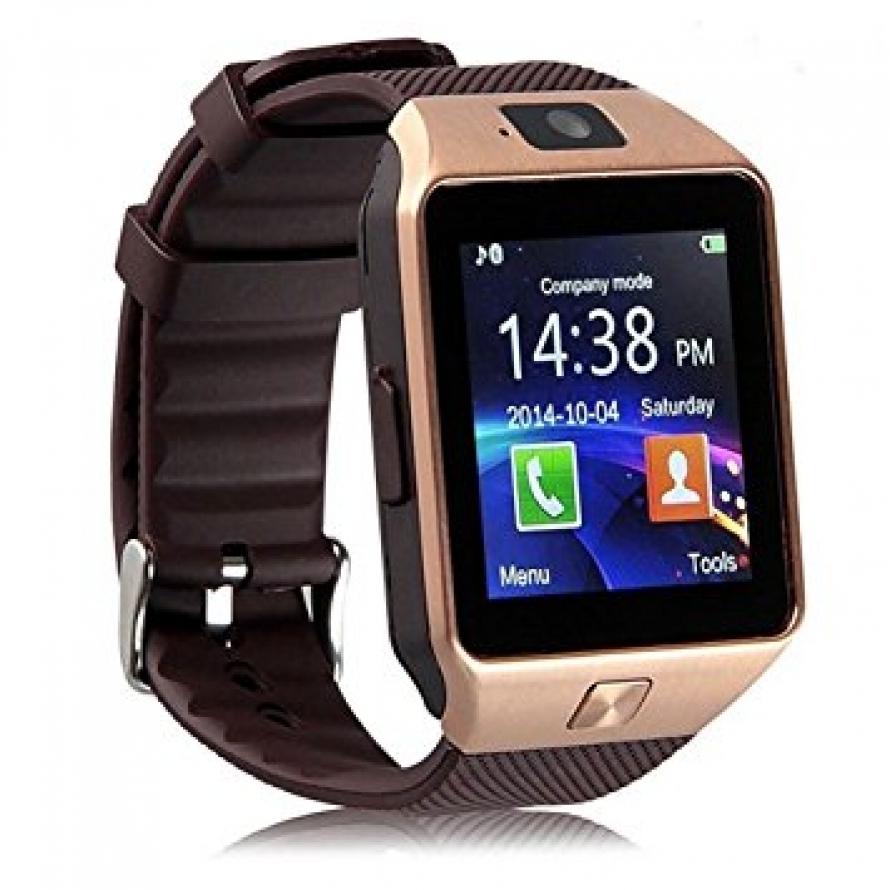 Умные часы - телефон DZ09, смарт часы с SIM картой, камерой и слотом по флешку
