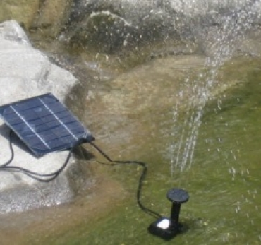 Автономный фонтан на солнечных батареях (маленький)