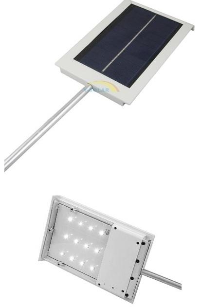 Автономный уличный светильник от солнечной энергии