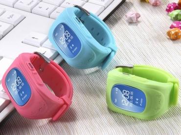 Детские умные часы Q50 с GPS трекером и функцией телефона
