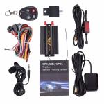 Автомобильный GPS трекер 103B со встроенной батареей и пультом управления