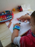 Умные детские часы Q50 с телефоном и отслеживанием местоположения