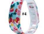 цветочные силиконовые водооталкивающие наручные часы