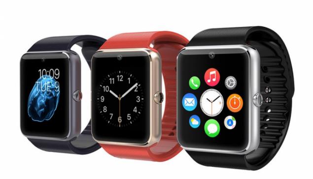Умные часы - телефон GT08, смарт часы с SIM картой, камерой и слотом по флешку