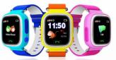 Детские умные часы Q90 с GPS трекером и функцией телефона
